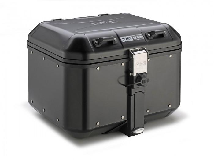 Kufer GIVI DLM46B TREKKER DOLOMITI Black Line (aluminiowy-czarny, 46 litrów)