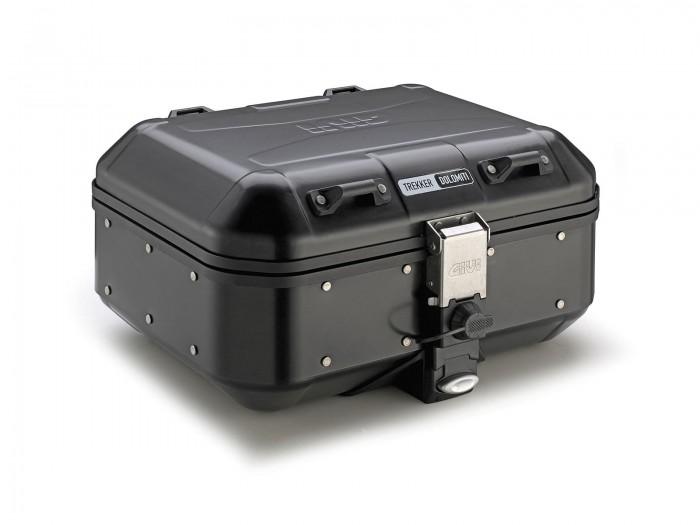 Kufer GIVI DLM30B TREKKER DOLOMITI Black Line (aluminiowy-czarny, 30 litrów)