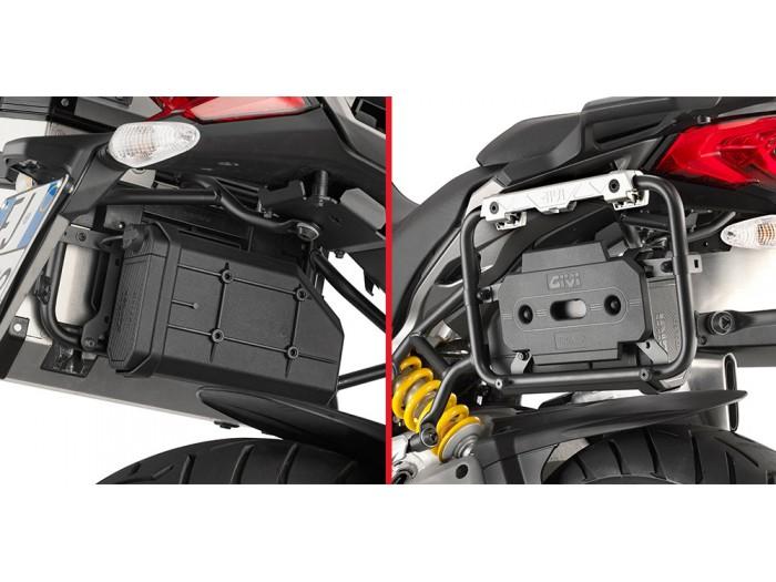 Adapter skrzynki narzędziowej S250 - GIVI TL1146KIT - Triumph Tiger 800 / XC/ XR [11-17] (do stelaża PLR6409 / KLR6409)