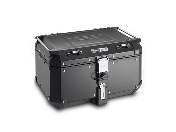 Kufer Givi OBKN58B Outback (aluminiowy, czarny, 58 litrów)