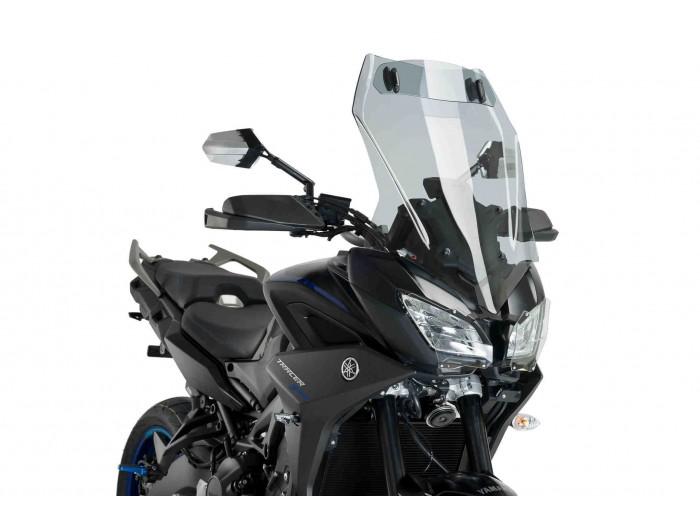 Szyba turystyczna PUIG do Yamaha MT-09 Tracer / GT 18-19 z deflektorem (przyciemniana)