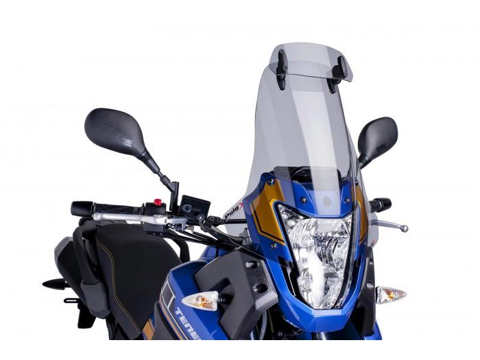 Szyba turystyczna PUIG do Yamaha XT660Z Tenere 08-16 z deflektorem (przyciemniana)
