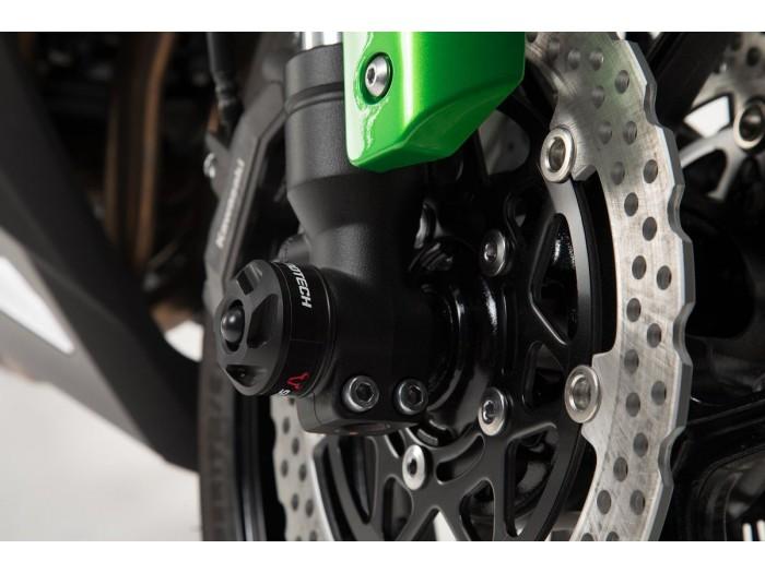 Crashpady na przednią oś Sw-Motech do Kawasaki Ninja 1000SX
