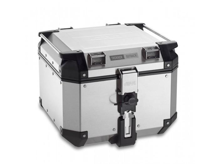 Kufer Givi OBKN42A Outback (aluminiowy, srebrny, 42 litry)