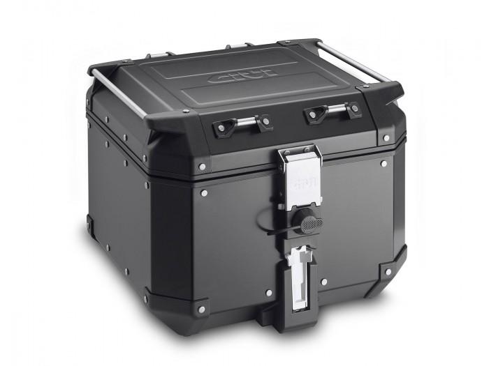Kufer Givi OBKN42B Outback (aluminiowy, czarny, 42 litry)