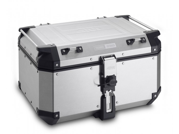 Kufer Givi OBKN58A Outback (aluminiowy, srebrny, 58 litrów)