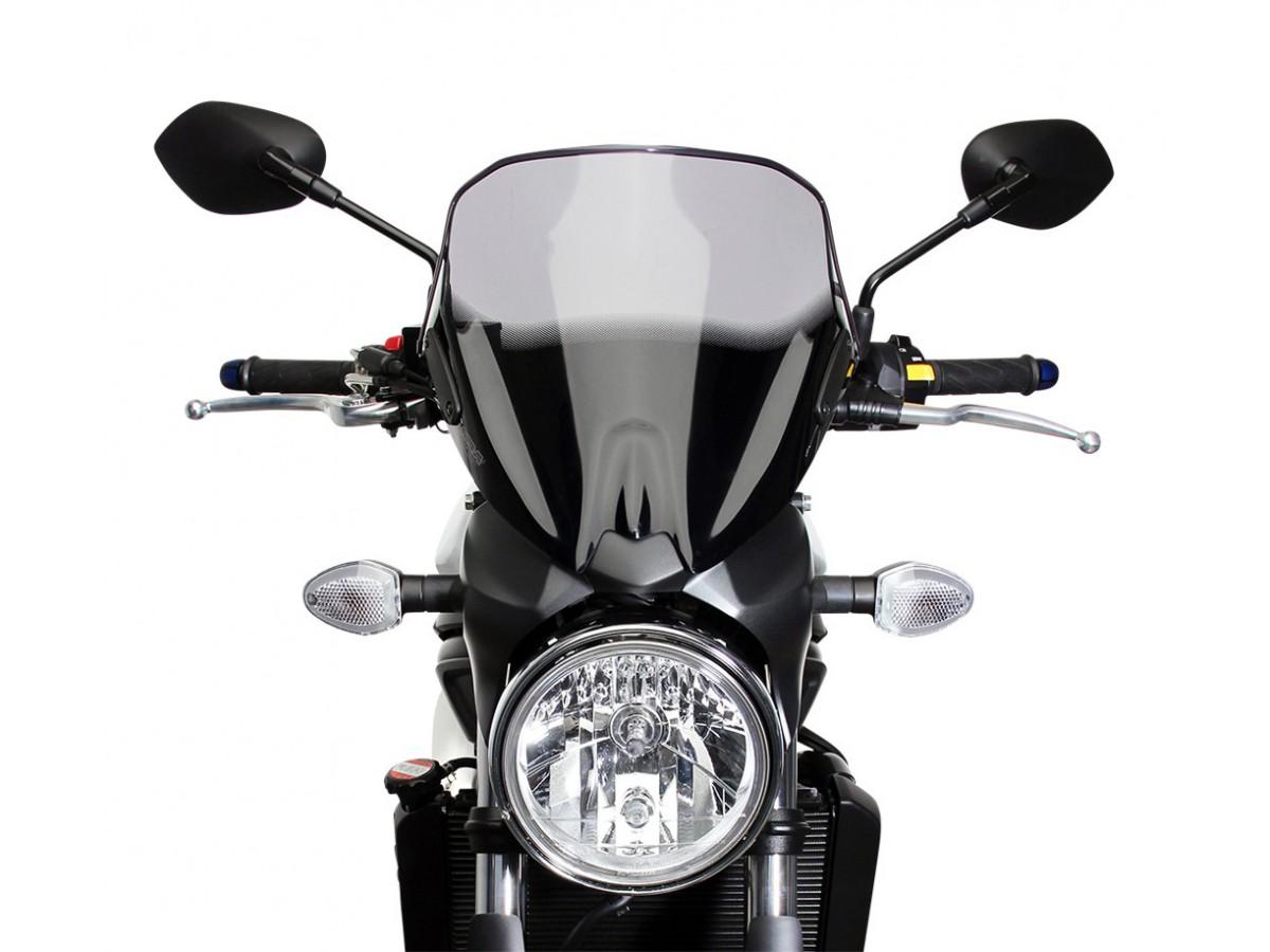 SW Motech Black Headlight Guard - Suzuki SV650 ABS (15